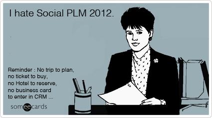 no trip for Social PLM